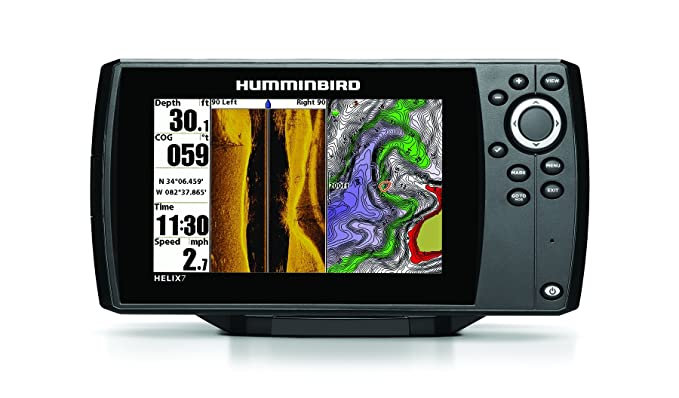 Humminbird 409850-1 Helix 7 SI GPS/Fishfinder with Side Imaging Sonar