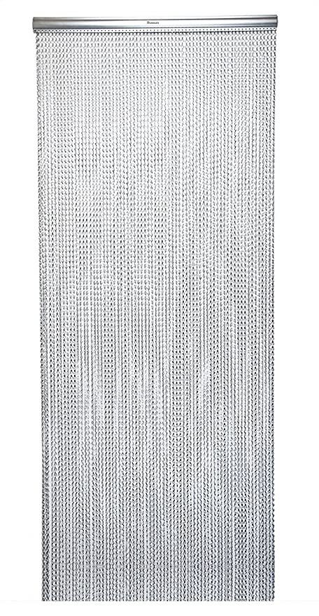 Xterminate Fly Screen Chain Curtains For Doors With 2 Free Spare