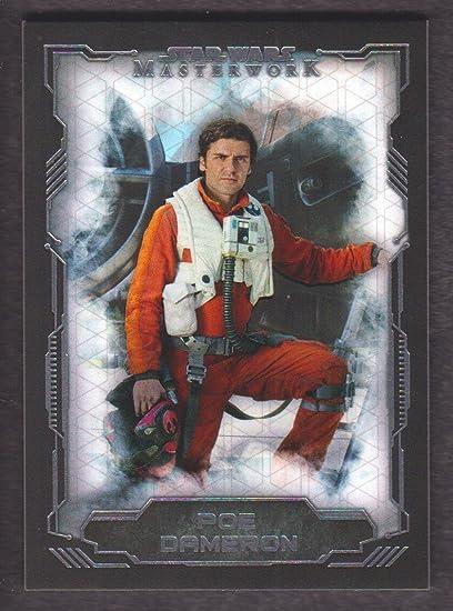 Star Wars Masterwork 2016 Base Card #42 Poe Dameron