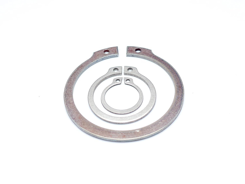 Sicherungsring 25x1.2 DIN 471 f/ür Wellen aus Edelstahl V2A 1.4122 Seegerring A2 Federstahl Sprengring St/ückzahl 1