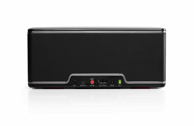 RIVA Audio Turbo X - Altavoz portátil (Bluetooth, 45W, 100 dB) Negro