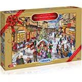 Gibsons  The Christmas Grotto Limited Edition Jigsaw Puzzle (1000-Piece)