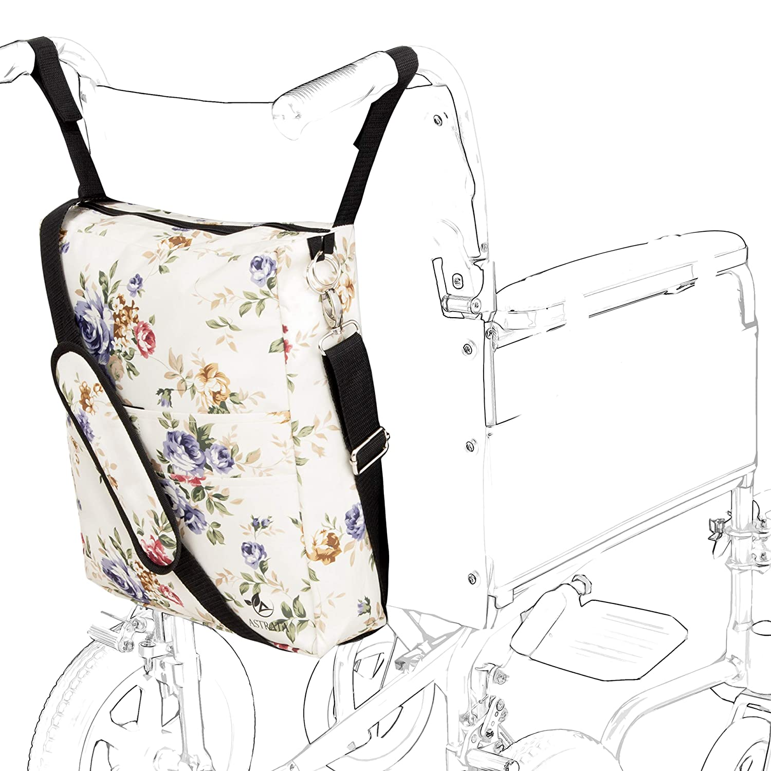13d83ae172 Amazon.com  Astrata Backpack - Accessory Tote Bag for Seniors on  wheelchairs