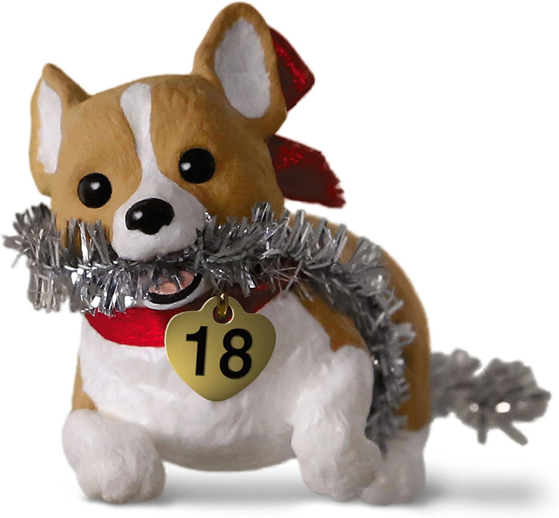Keepsake Christmas Ornament 2020 Year Dated, Puppy Love Welsh Corgi Amazon.com: Hallmark Keepsake Christmas Ornament 2018 Year Dated