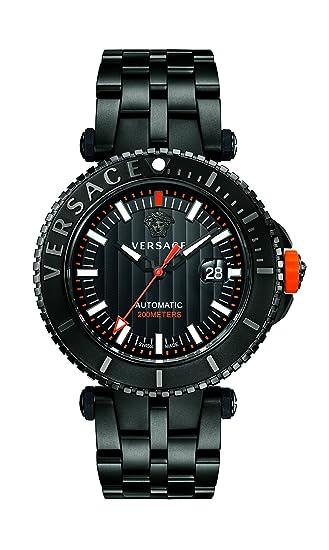 Versace VAL010016 - Reloj analógico automático con Correa de Acero Inoxidable para Hombre