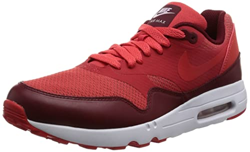 quality design bac4a ec464 Nike Men s Air Max Ultra 2.0 Essential Track Red Track Red Team Red Running