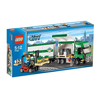 LEGO City Truck and Forklift: Toys & Games
