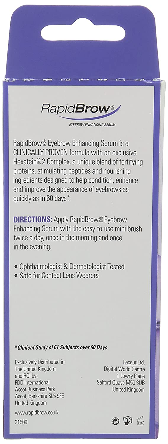 Rapidbrow Eye Brow Enhancing Serum Amazon Prime Pantry