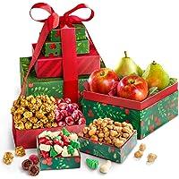 Merry Christmas Fruit & Treats Tower