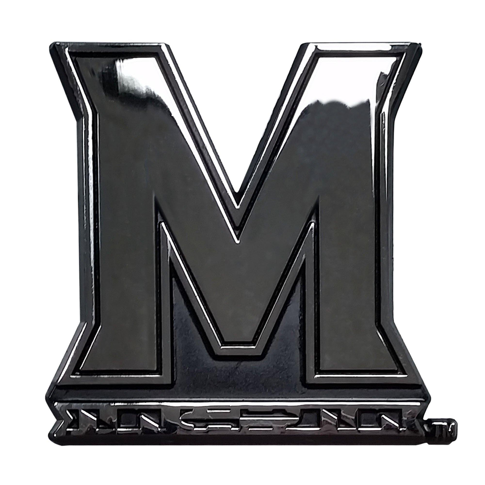 Fanmats NCAA University of Maryland Terrapins Chrome Team Emblem