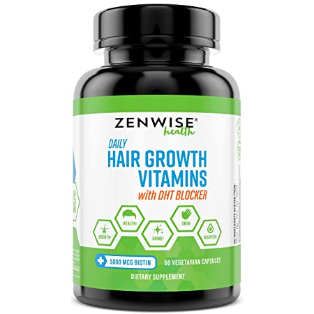 Zenwise Health Hair Growth Vitamins