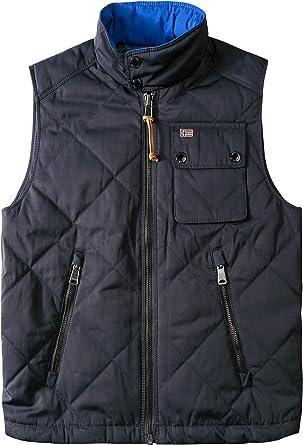 niedriger Preis suche nach echtem uk billig verkaufen Napapijri Herren Weste Ärmellos-Jacke Uni & Uninah, Größe ...