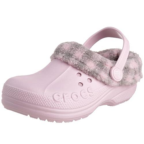 64c1fdab6cea Crocs Kids Blitzen Lumberjack Clog Bubblegum 10590-67Q-125 12 12 13 Child