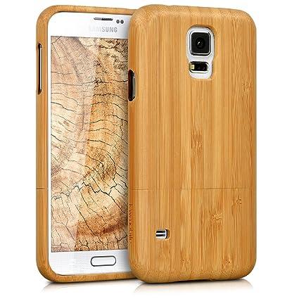Amazon.com: kwmobile - Carcasa para Samsung Galaxy S5/S5 Neo ...