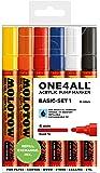 Molotow One4All 227HS 6er Main Set 1 Kit Box Basic Lack Marker Stifte Paint Pen