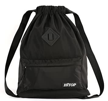 Amazon.com : Waterproof Drawstring Sport Bag, Large lightweight ...