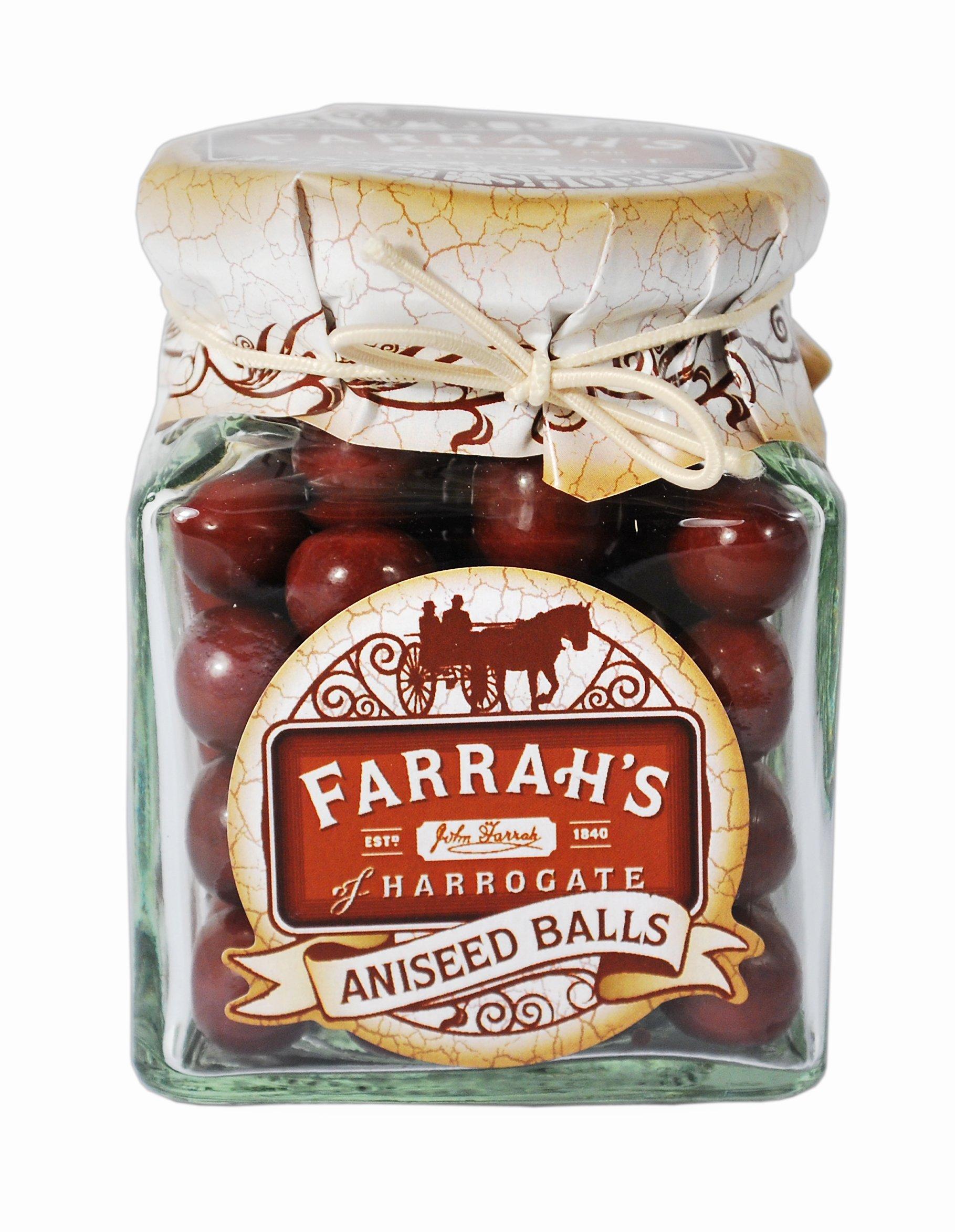 Farrah's of Harrogate Aniseed Balls Sweet Jar 160 g by Farrah's of Harrogate