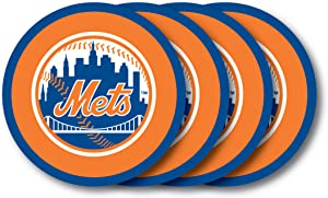 MLB New York Mets Vinyl Coaster Set (Pack of 4) - LVC