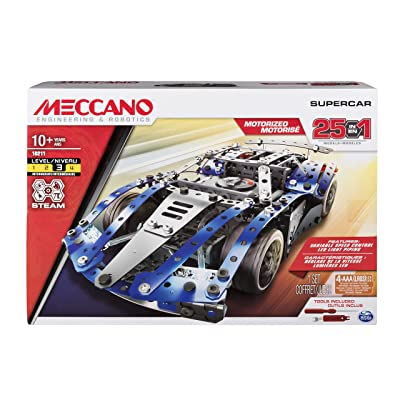 Meccano Multi 25 Model Supercar: Toys & Games