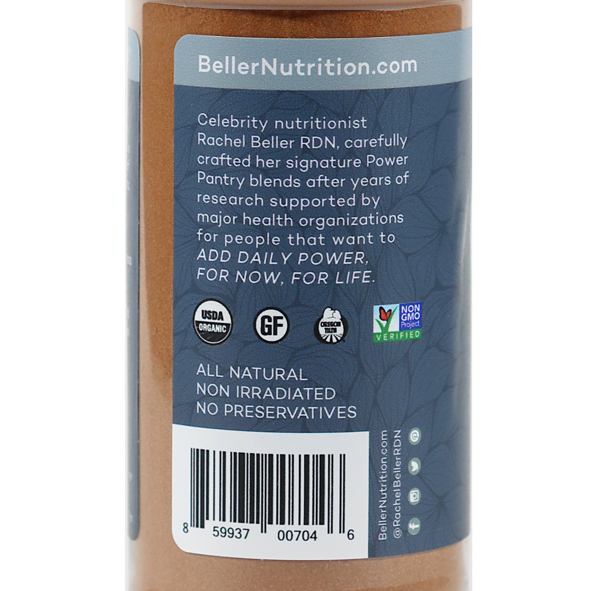 Rachel Beller's Power Pantry Ceylon Cinnamon - Organic Ceylon cinnamon spice, 3.1 ounce by Rachel Beller's Power Pantry (Image #4)