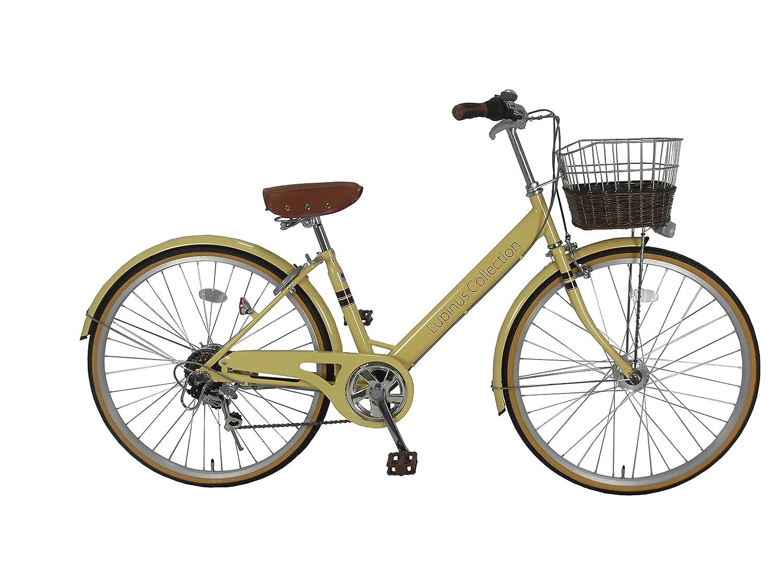 【お1人様1点限り】 Lupinusルピナス B0798KNQ9P LP-266VA 自転車 26インチ LP-266VA 26インチ シティサイクル Vフレーム 籐風カゴ オートライト アイボリー B0798KNQ9P, SUPER RAG:e61c2761 --- greaterbayx.co