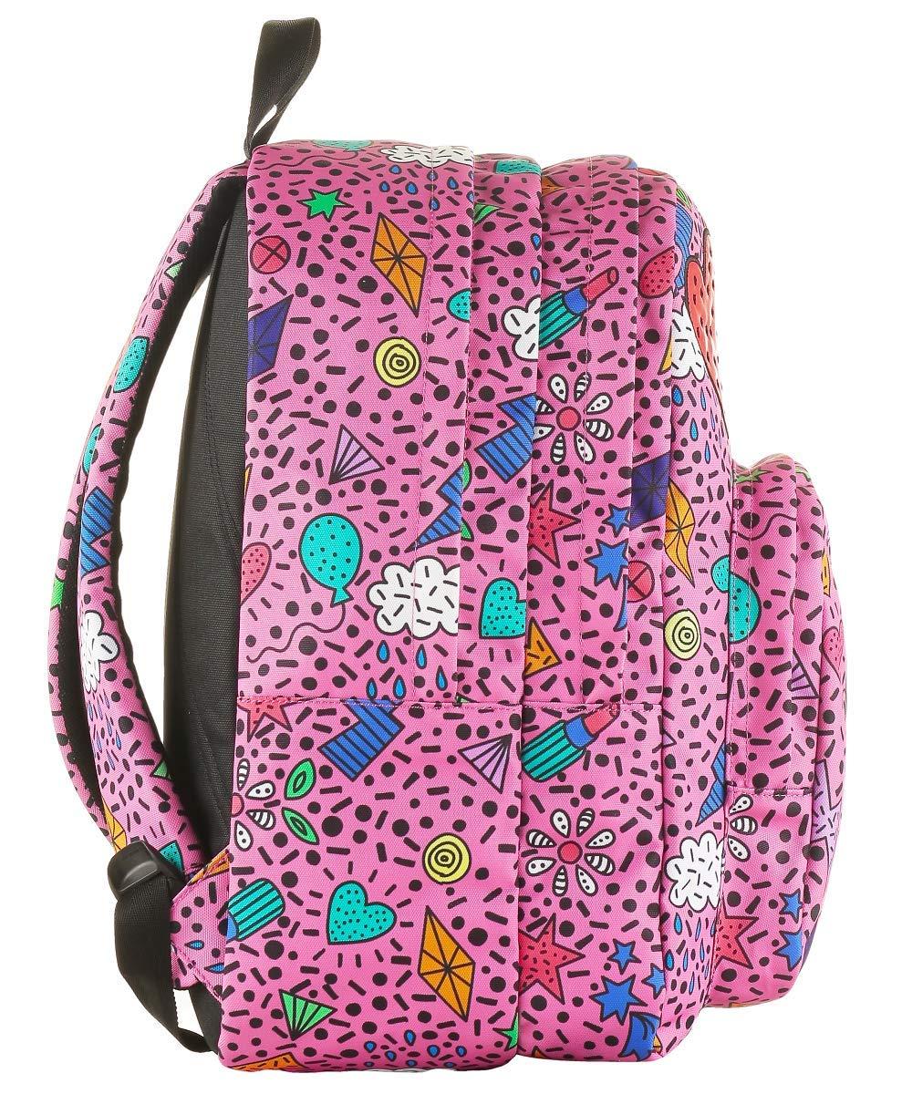 3d69fad7c1 ZAINO INVICTA - DIAL PACK FACE - Azalea Pink Rosa - tasca porta pc padded -  americano 38 LT: Amazon.it: Valigeria