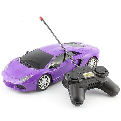 Amazon Com Luxurious Purple Exotic Remote Control Rc Sports Car