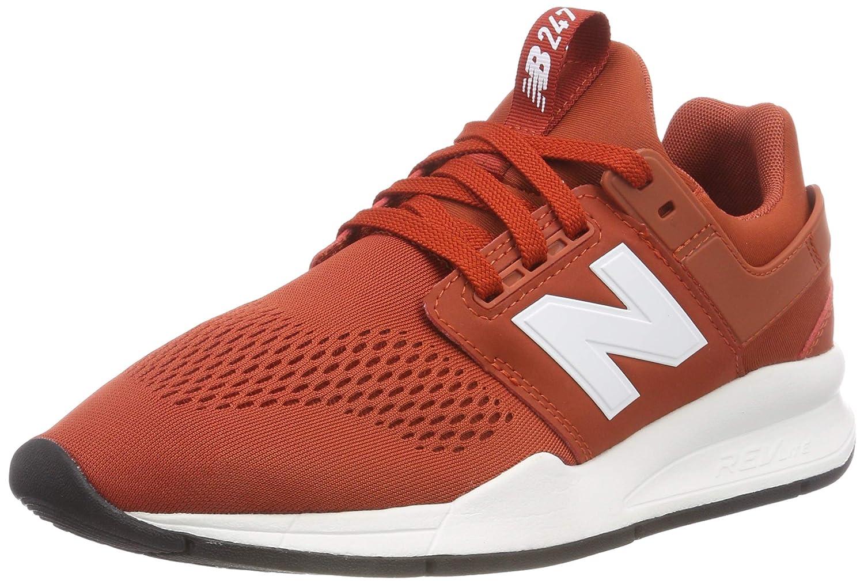 New Balance 247v2, Zapatillas para Hombre 40.5 EU|Rojo (Vintage Russet/White Es)