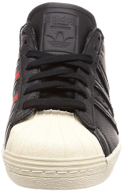 adidas Originals Damen Sneaker Grau Superstar 80s W, Größenauswahl:39 13