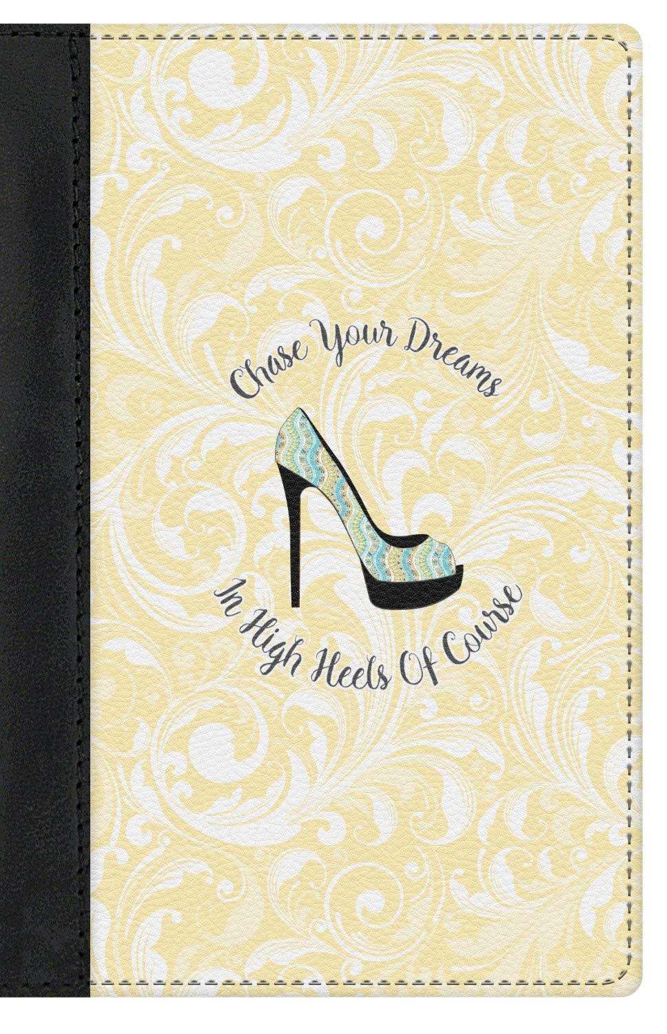 High Heels Genuine Leather Passport Cover