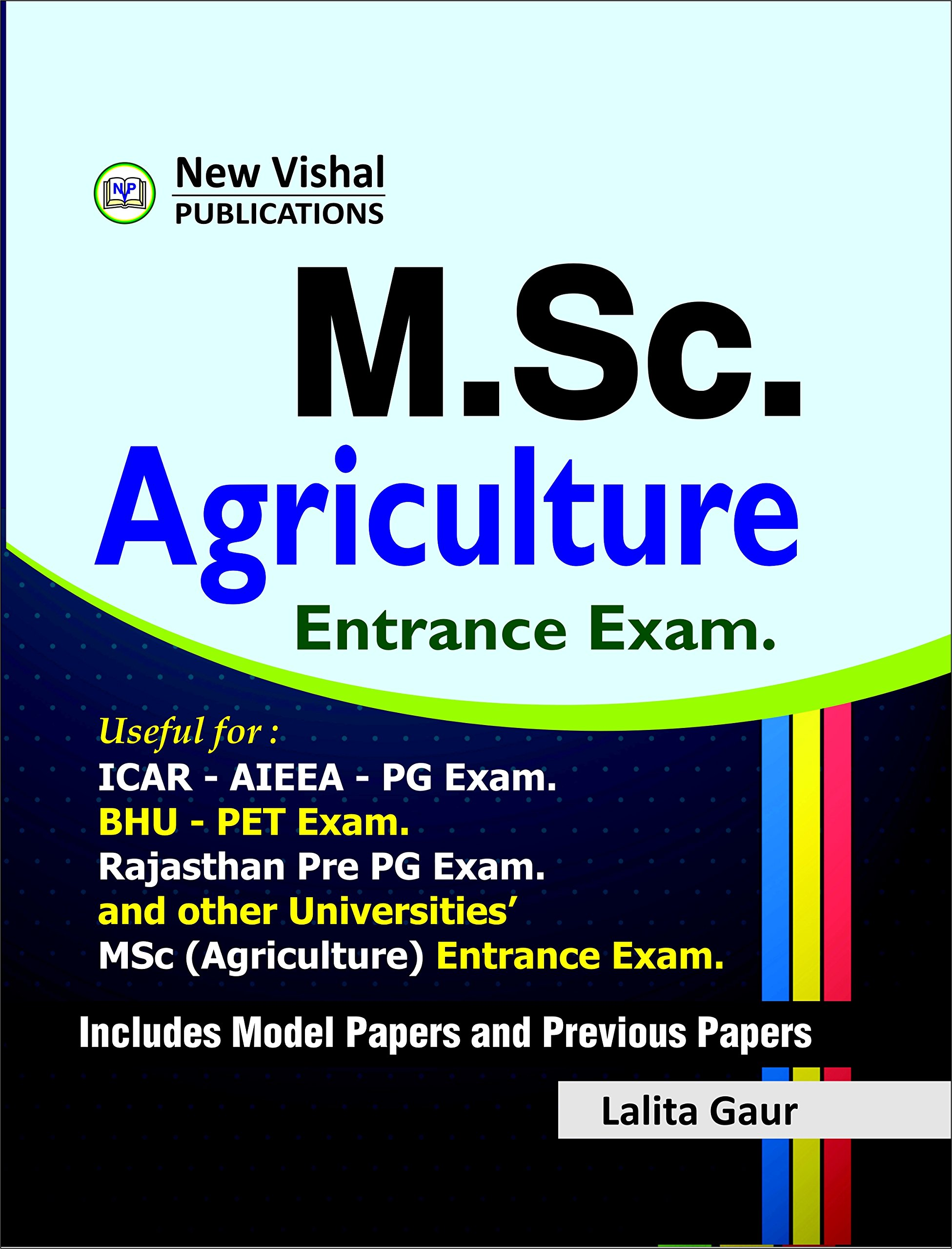MSc Agriculture Entrance Exam Book
