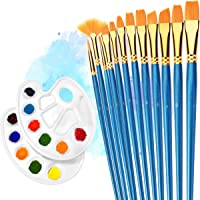 Atmoko 12-Piece Painting Brush Set (Blue)