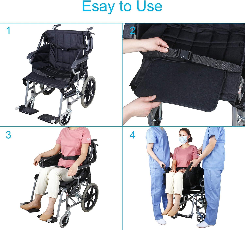 REAQER Cintur/ón de transferencia de pacientes Tablero de transferencia de emergencia con movilidad m/édica