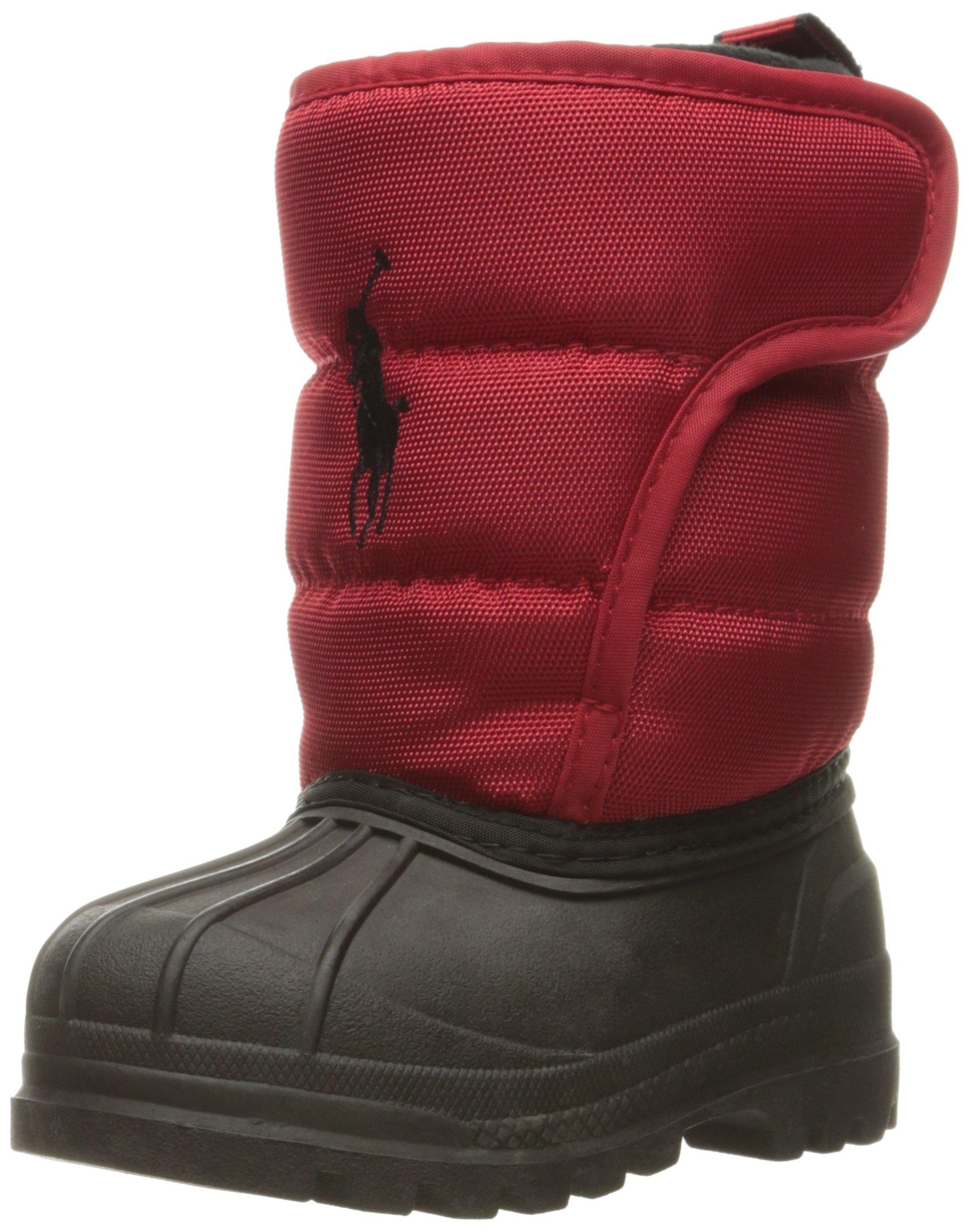 Polo Ralph Lauren Kids Kids' 993533 Snow Boot Red 10 M US Toddler