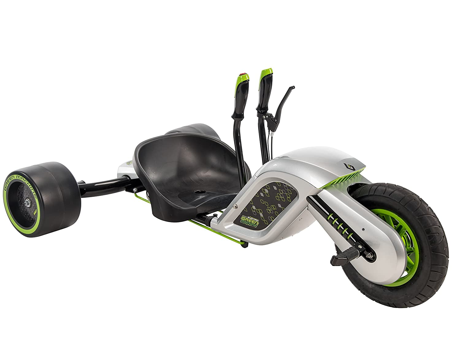 Huffy Electric Drifting Green Machine
