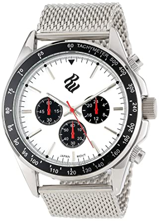 Buy Rocawear Mens Rm0106s1 053 Stylish Bracelet Enamel Bezel Watch
