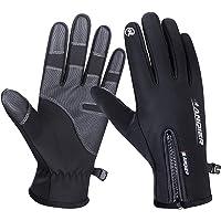 coskefy Cycling Gloves Men Women Waterproof Lightweight Riding Gloves Touchscreen Sports Gloves