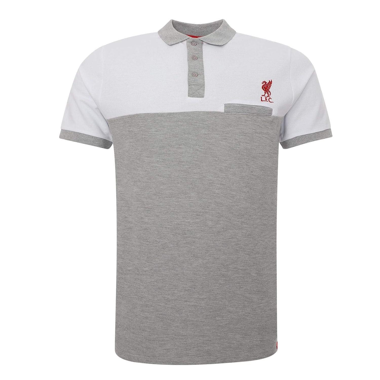 FC Liverpool Colour Block Pocket Polo Shirt