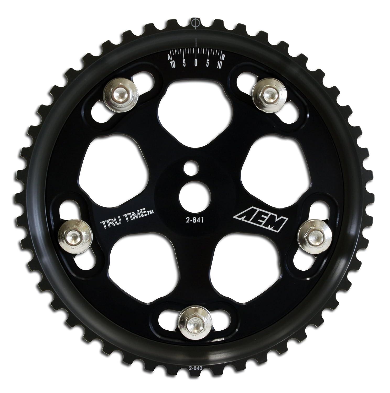 AEM 23-831BK Black Tru-Time Adjustable Cam Gear