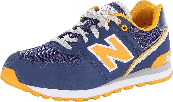 New BalanceKL574JN - Botines Unisex, para niños, color Azul, talla 37 EU: Amazon.es: Zapatos y complementos