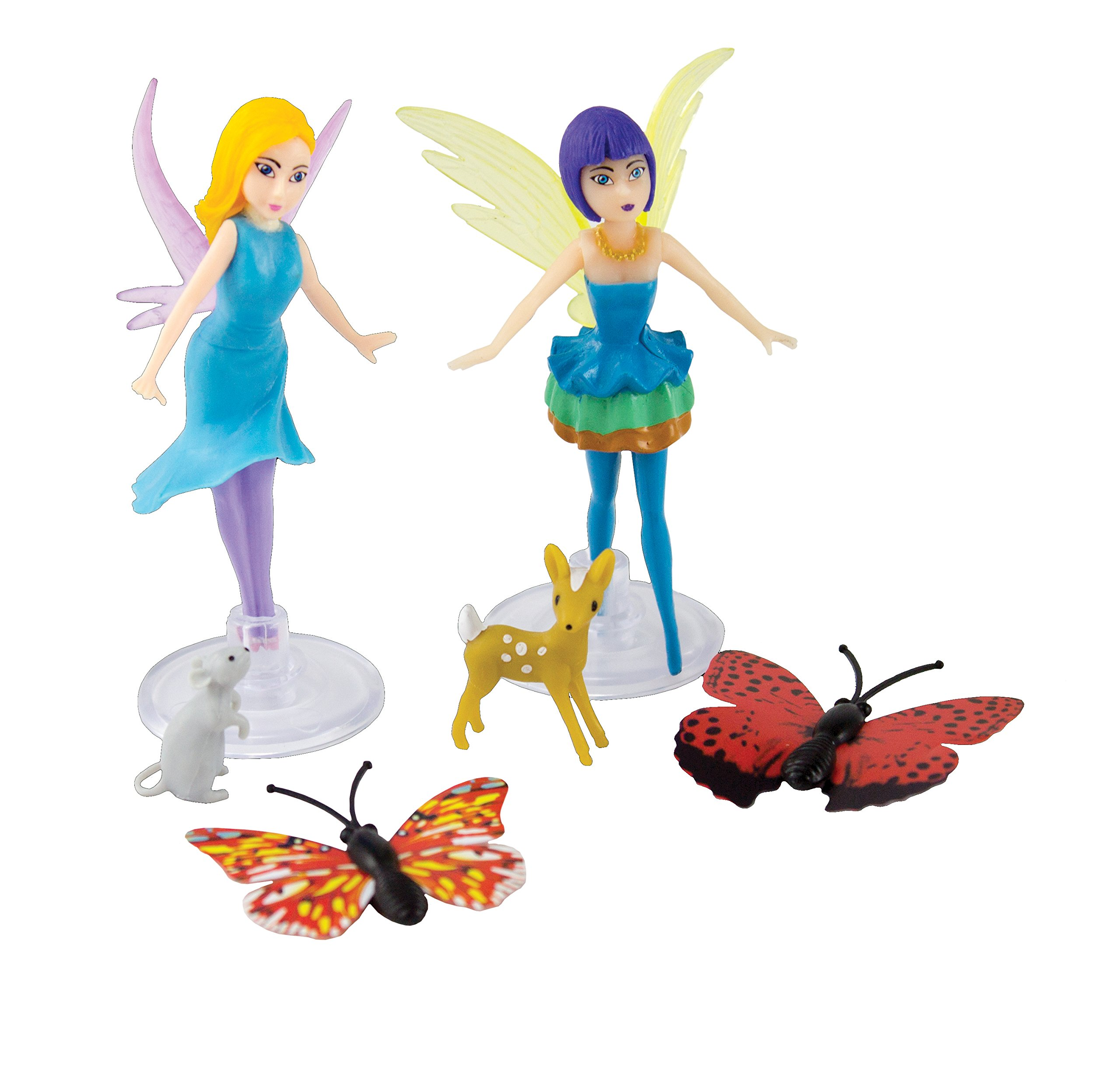 My Fairy Garden Fairy & Friends Laurel & Bluebelle Playset