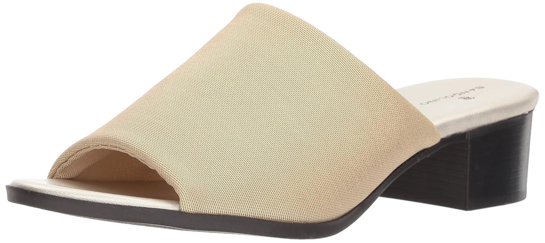Bandolino Women's Evelia Slide Sandal B0784PJSXV 7 B(M) US Gold Fabric
