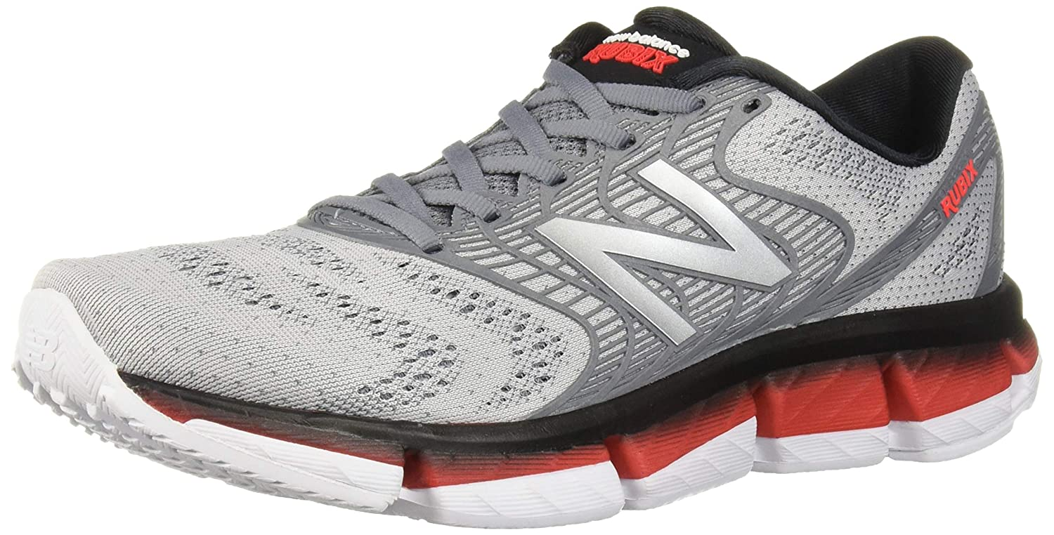 White Black Energy Red New Balance Men's Rubix V1 Running shoes,