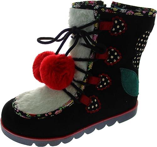 Kids Girls Pink Boots Shoes A Irregular Choice Mini warmer