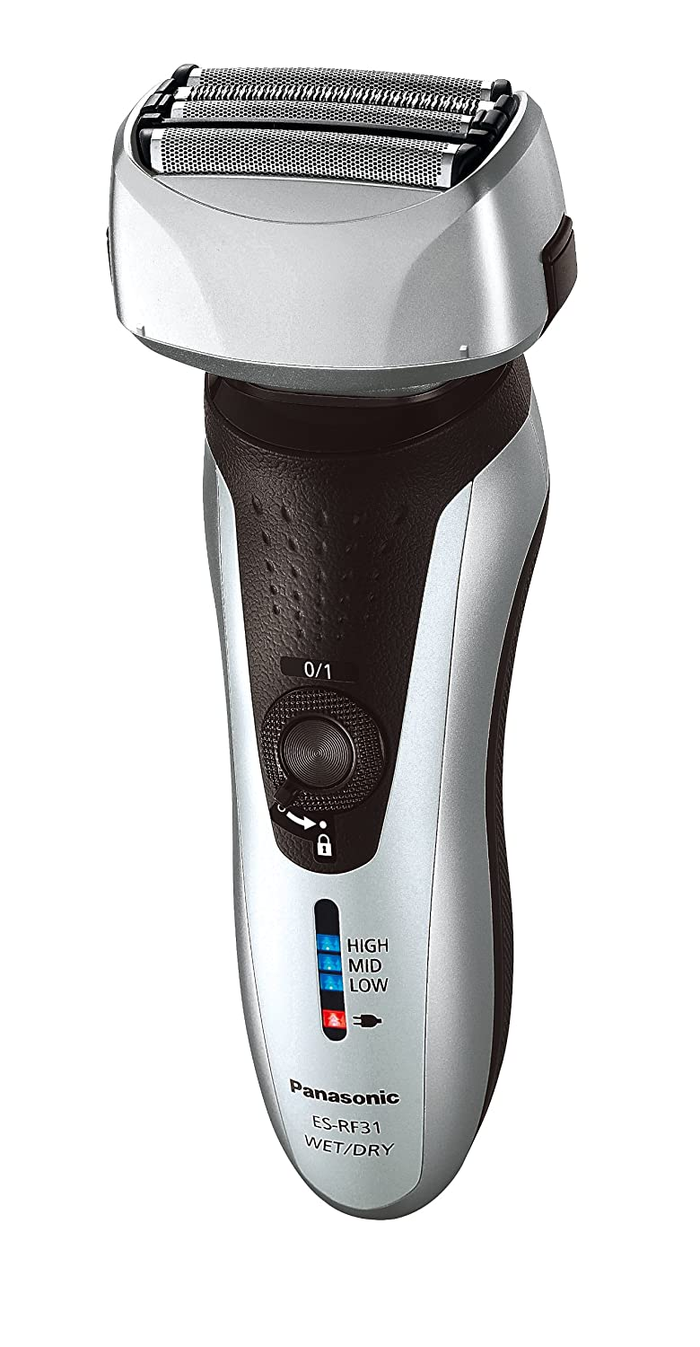 Panasonic ES-RF31 4 Blade Electric Shaver Wet and Dry with Flexible  Pivoting Head for Men 25e89964589