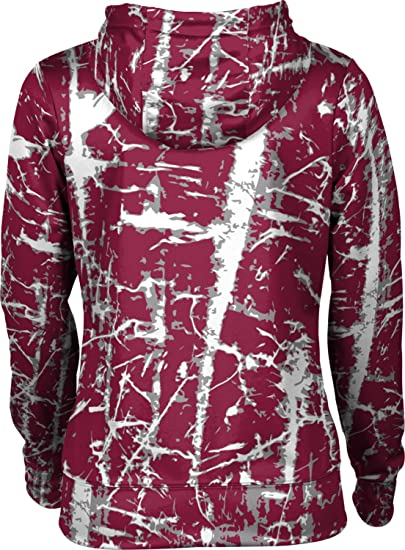 ProSphere New Mexico State University Girls Zipper Hoodie School Spirit Sweatshirt Distressed