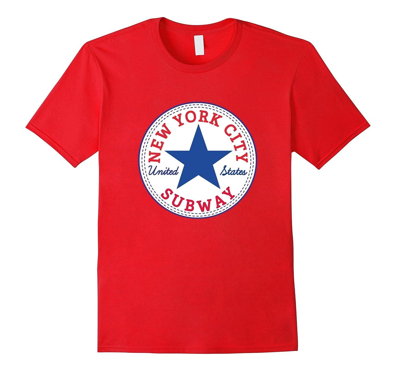 The New York City Subway USA United States T-Shirt-CD