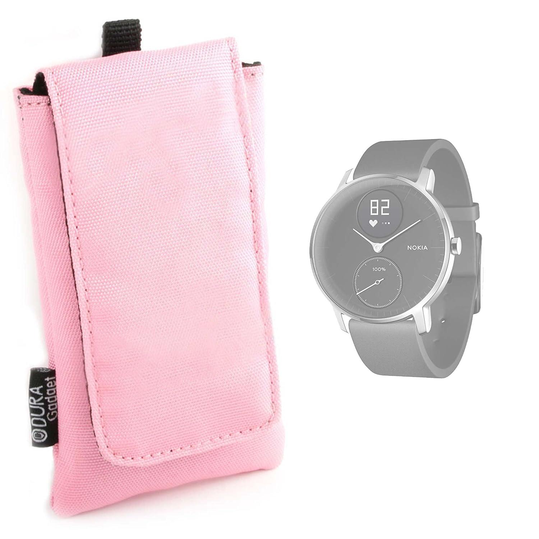 DURAGADGET Funda Acolchada Rosa para Nokia Steel/Huawei Watch 2 ...