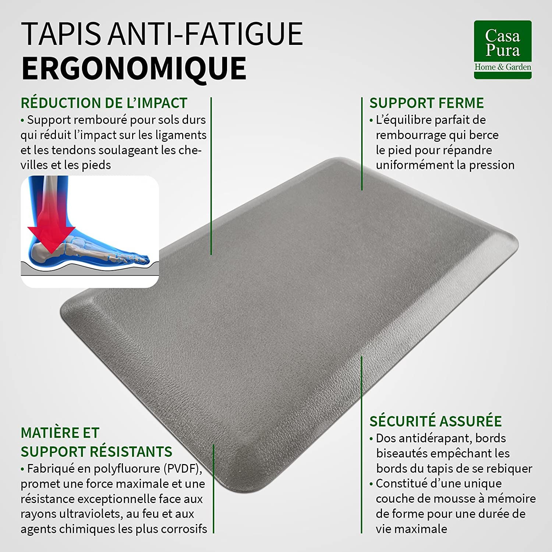 Casa Pura Tapis Anti Fatigue Extreme 50x76cm Confort Maximal