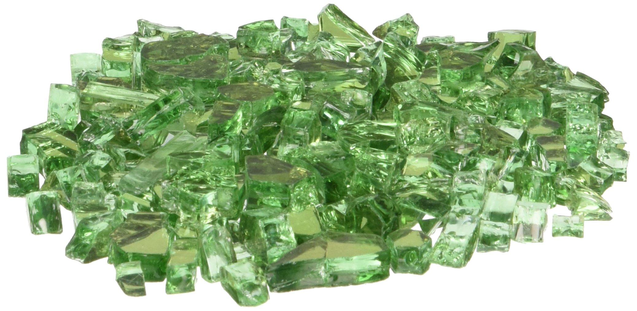 AZ Patio Firepit Reflective Glass, 20 lb, Green by Hiland